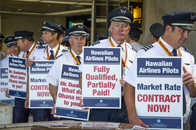Hawaiian Air Pilots